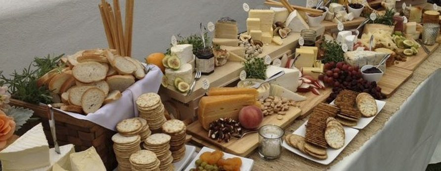 Wedding Catering Trend: Cheese??