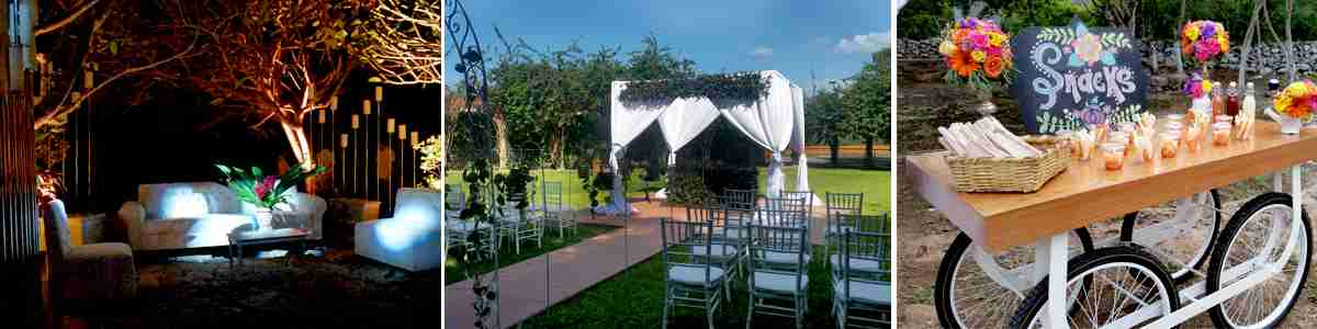 Merida haciendas, destination weddding, yucatan weddings