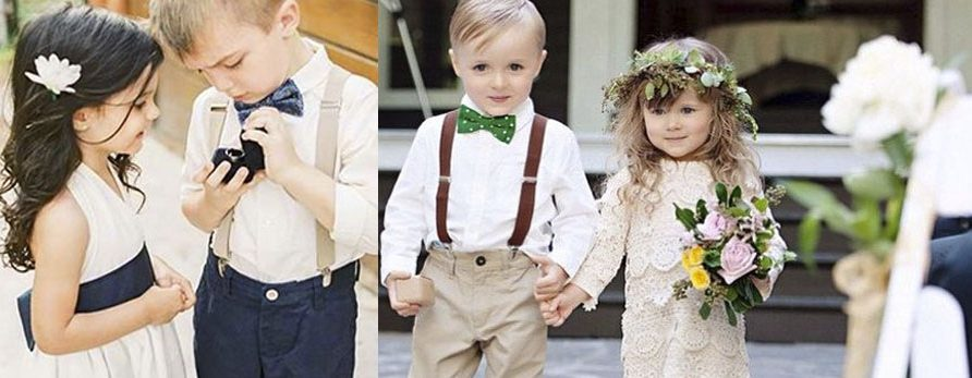 Tips: Ring Bearer & Flower girl