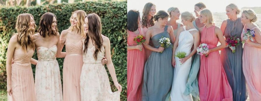 Destination Bridesmaids Dresses Trends for 2018
