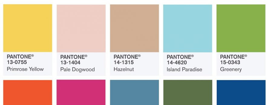 Wedding Inspiration Pantone 2017