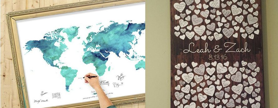 5 Guest Book Ideas that we love