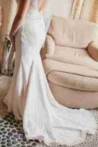 Real Bridal Gowns with train
