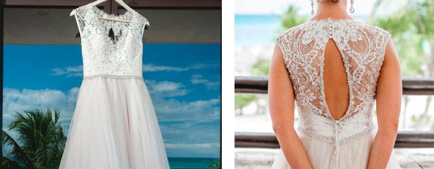 Real Bridal Gowns Inspiration for your Caribbean Weather Ceremony