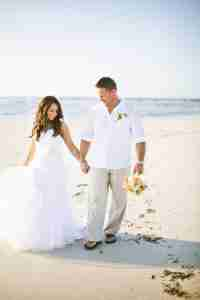 3ceafa9e87 This is the ultra-laidback groom wedding outfits option! Perfect for a  beach wedding, a white linen shirt with Kahki pants is a winner card.