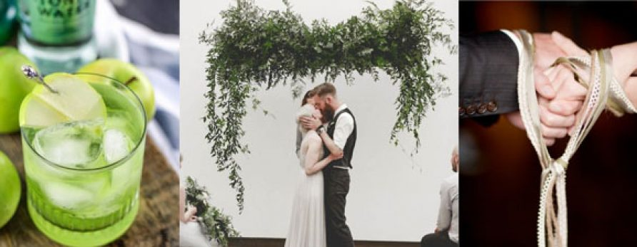St. Patrick´s Wedding Inspiration that rocks for your wedding