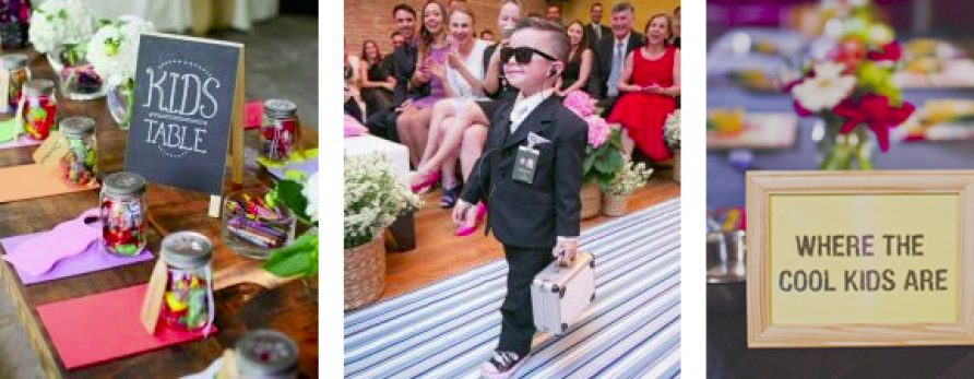 Super Cute Ideas to Entertain Kids at Weddings
